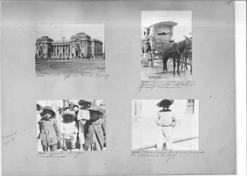 Mission Photograph Album - Mexico #04 page 0025