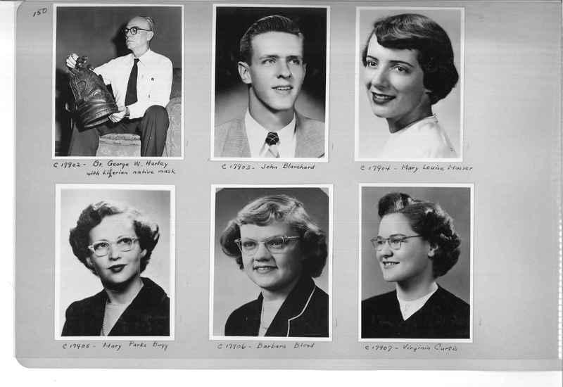 Mission Photograph Album - Portraits #07 Page 0150