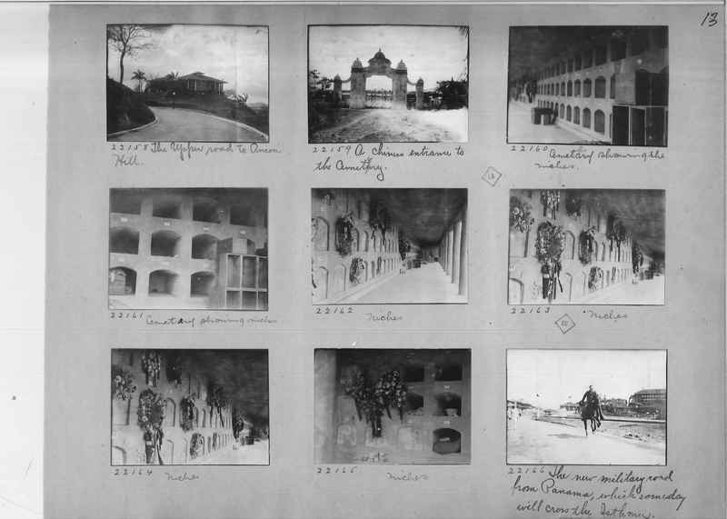 Mission Photograph Album - Panama #02 page 0013