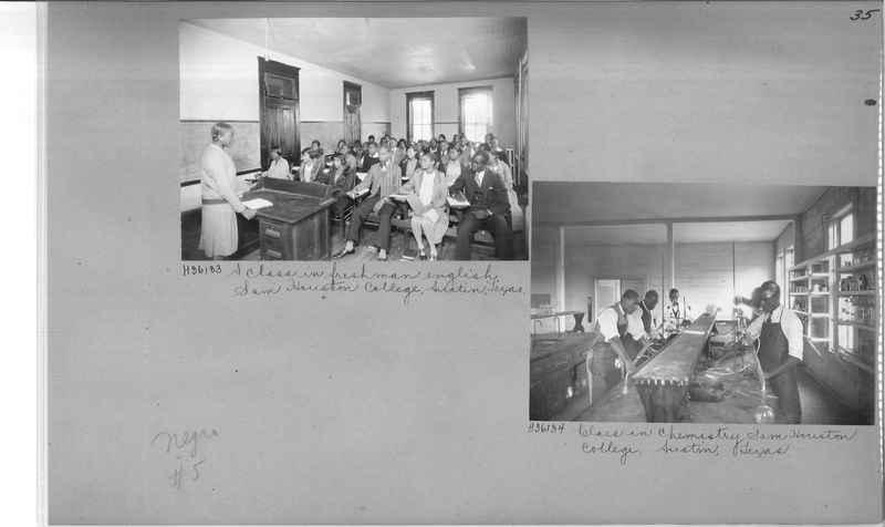 Mission Photograph Album - Negro #5 page 0035