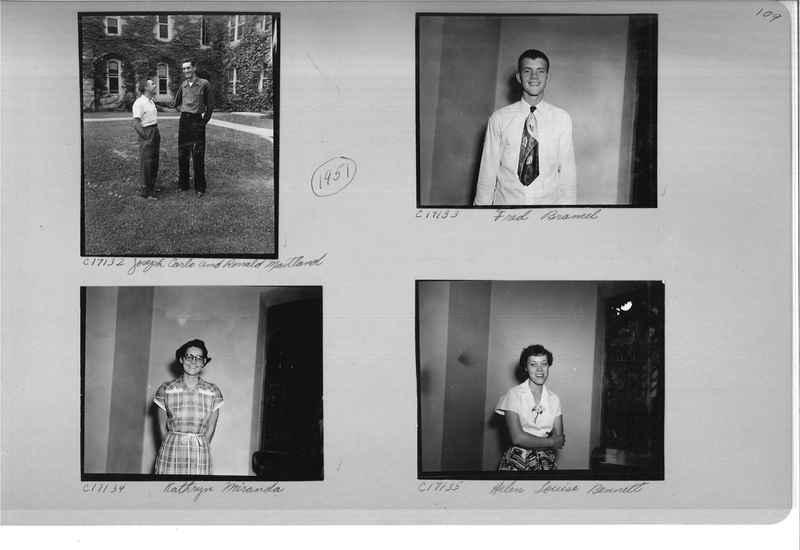 Mission Photograph Album - Portraits #07 Page 0109