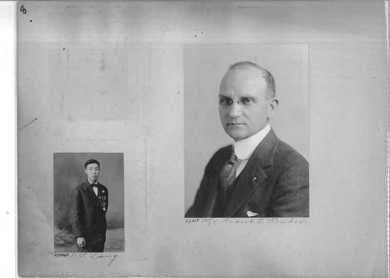 Mission Photograph Album - Portraits #3 page 0008