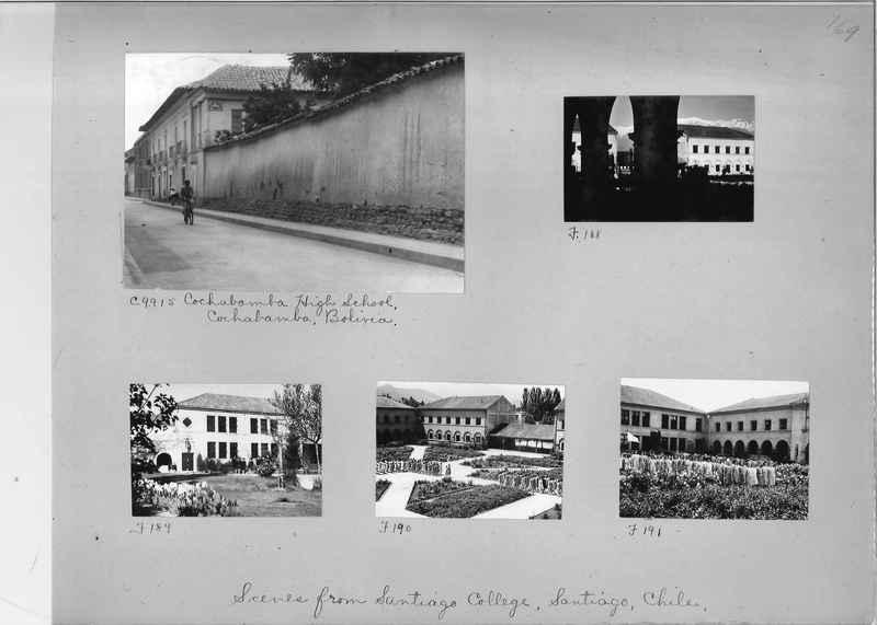 Misson Photograph Album - South America #8 page 0169
