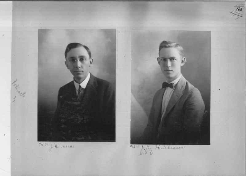 Mission Photograph Album - Portraits #3 page 0163