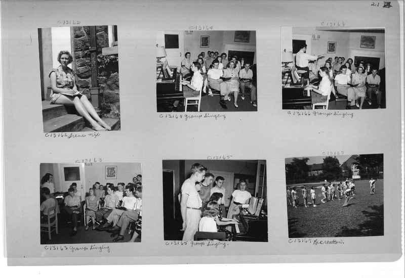 Mission Photograph Album - Portraits #13 Page 0021