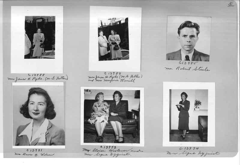Mission Photograph Album - Portraits #07 Page 0005