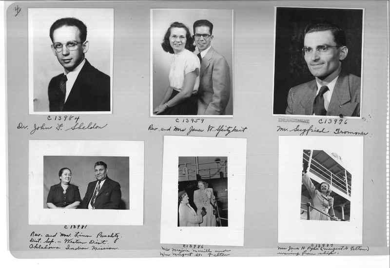 Mission Photograph Album - Portraits #07 Page 0004