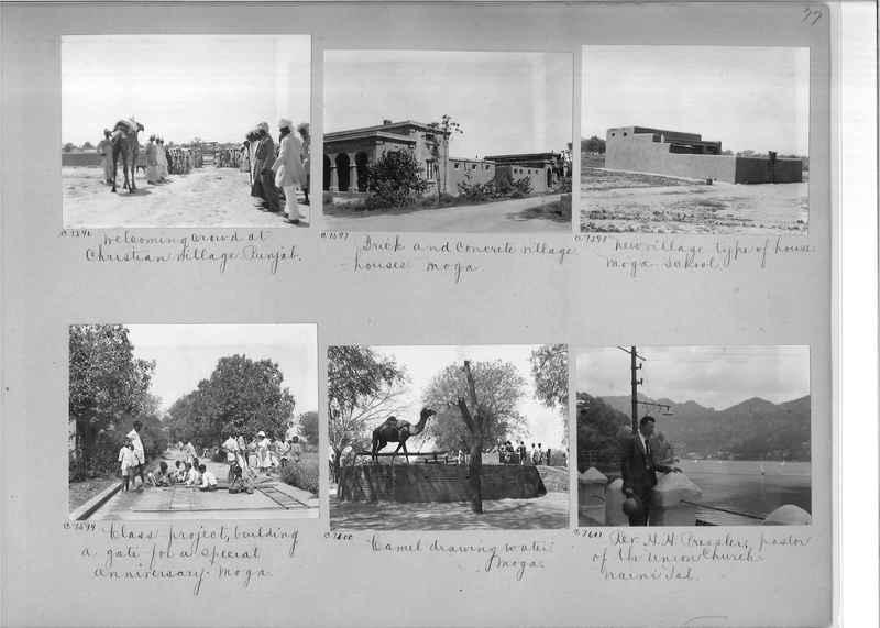 Mission Photograph Album - India #13 Page 0077