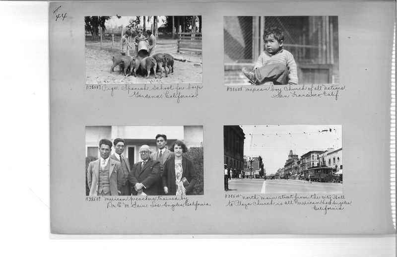 Mission Photograph Album - Latin America #2 page 0044