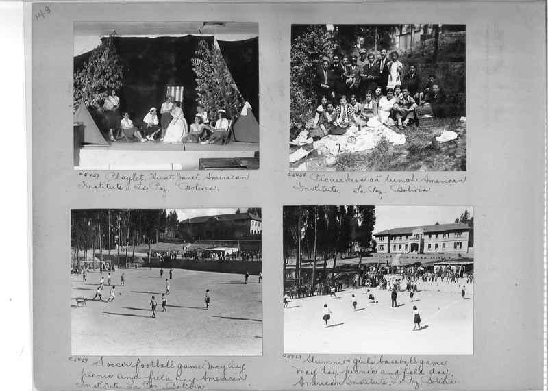 Misson Photograph Album - South America #8 page 0148