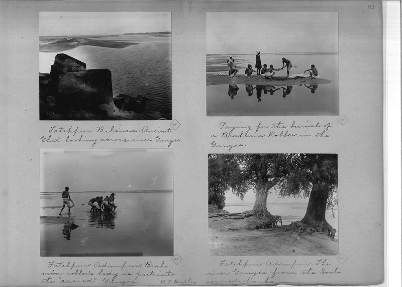 Mission Photograph Album - India - O.P. #02 Page 0113