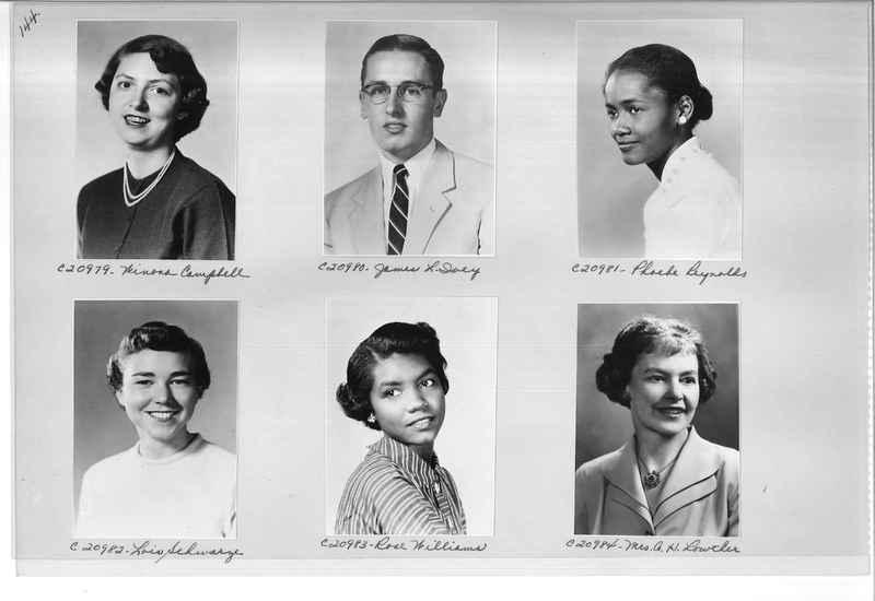 Mission Photograph Album - Portraits #09 Page 0144
