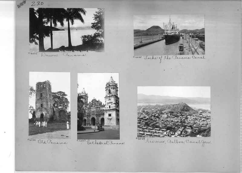 Mission Photograph Album - Panama #04 page 0230