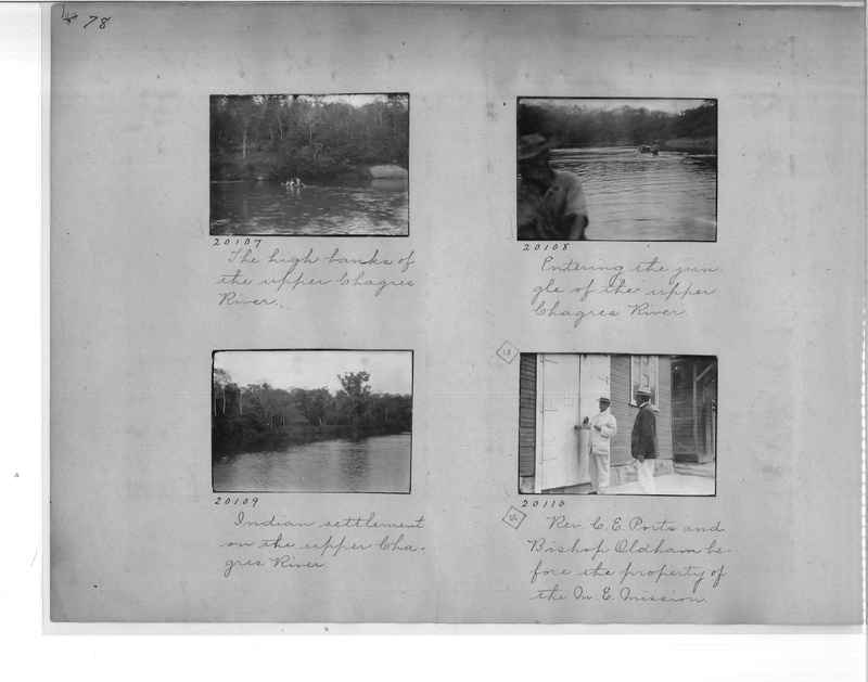 Mission Photograph Album - Panama #1 page  0078