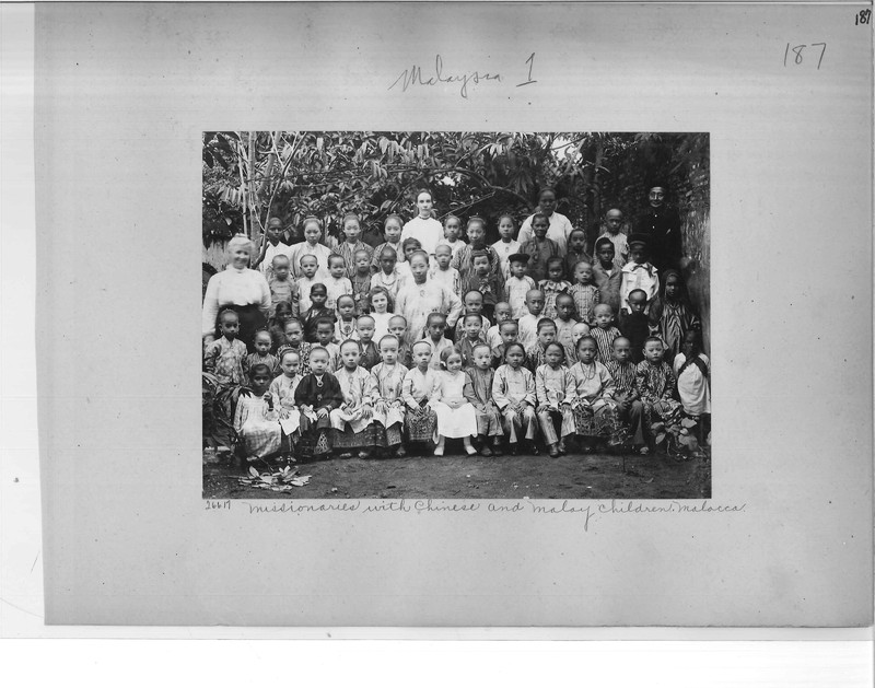Mission Photograph Album - Malaysia #1 page 0187