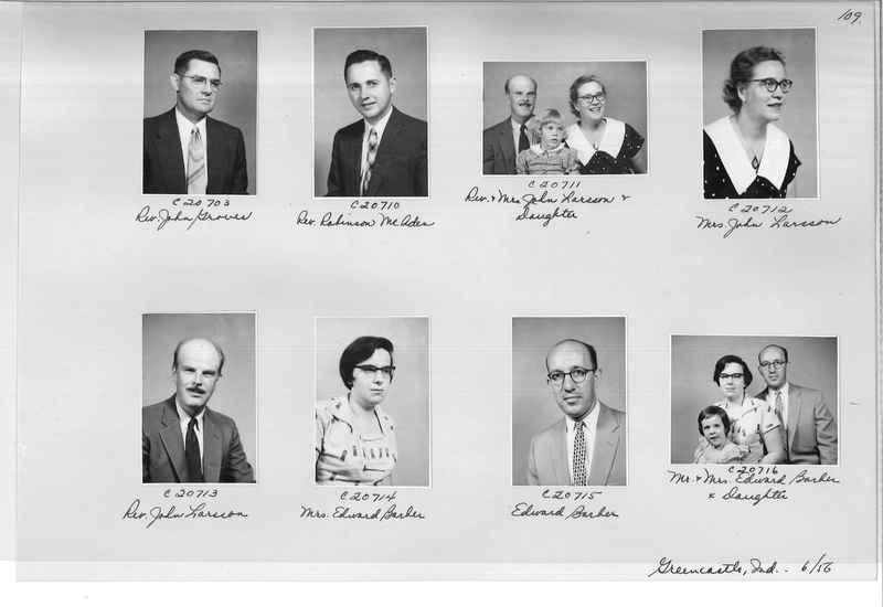 Mission Photograph Album - Portraits #09 Page 0109