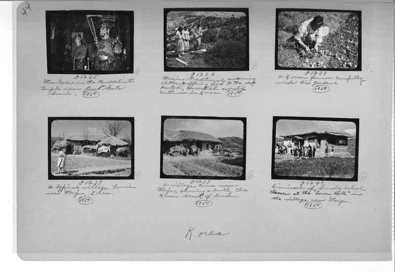 Mission Photograph Album - Korea #6 page 0044