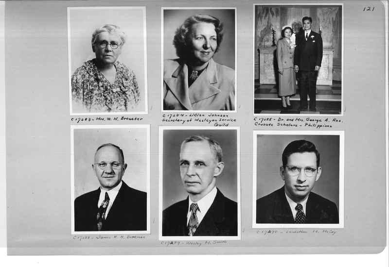 Mission Photograph Album - Portraits #07 Page 0121