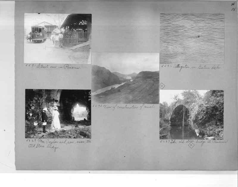 Mission Photograph Album - Panama #1 page  0015