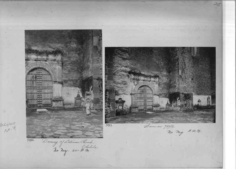 Mission Photograph Album - Mexico #04 page 0205