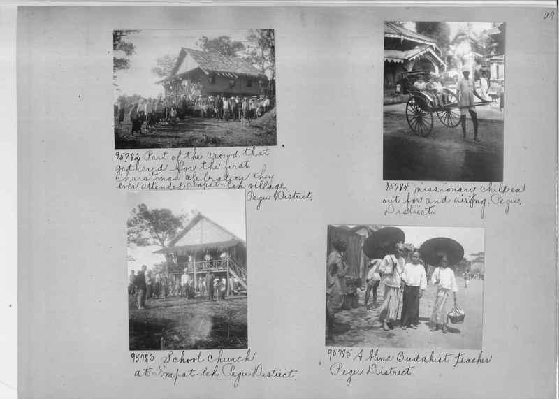Mission Photograph Album - Burma #2 page 0029