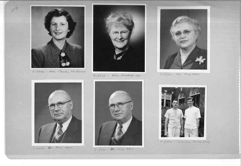 Mission Photograph Album - Portraits #07 Page 0124
