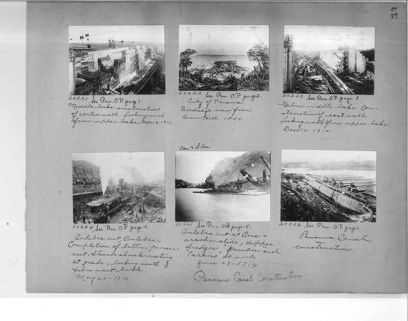Mission Photograph Album - Panama #1 page  0089