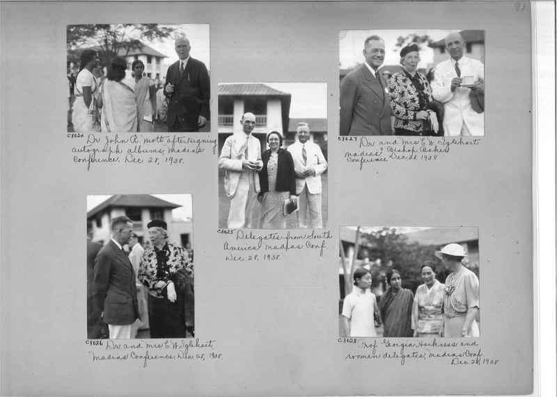 Mission Photograph Album - India #13 Page 0091