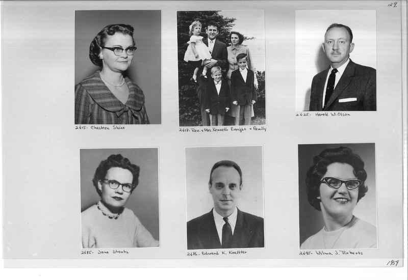 Mission Photograph Album - Portraits #12 Page 0029