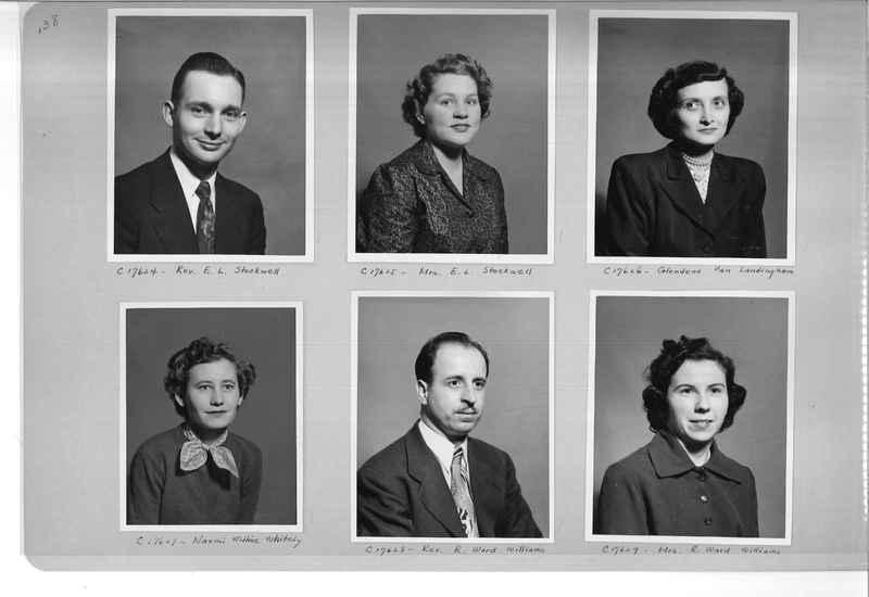 Mission Photograph Album - Portraits #07 Page 0138