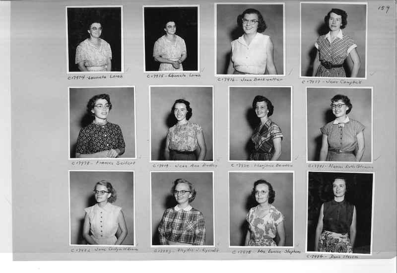 Mission Photograph Album - Portraits #07 Page 0159