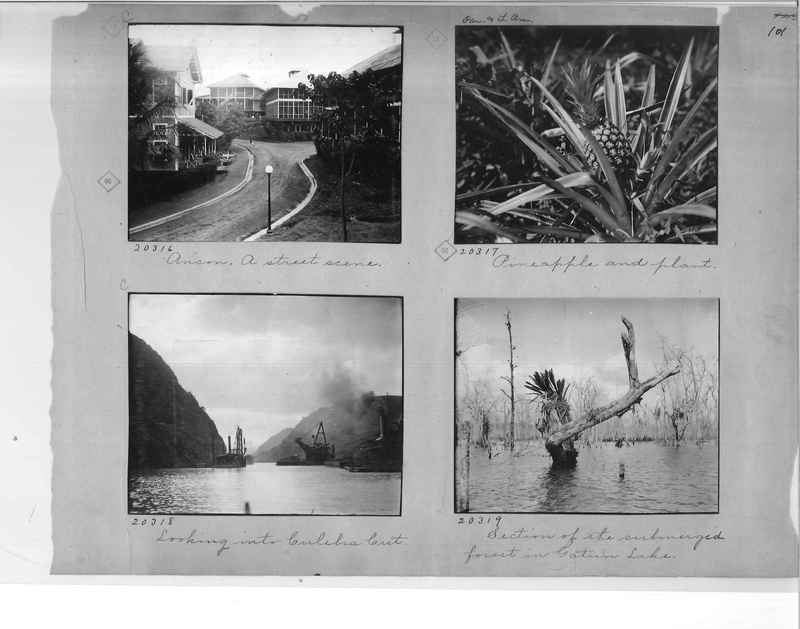 Mission Photograph Album - Panama #1 page  0101
