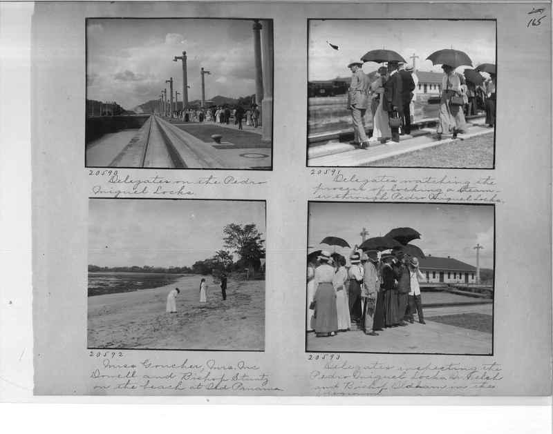 Mission Photograph Album - Panama #1 page  0165