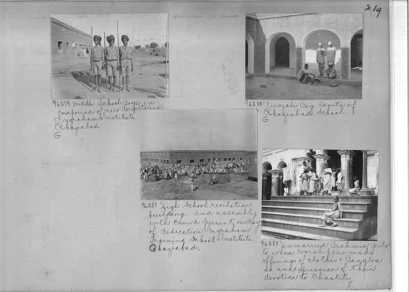 Mission Photograph Album - India #10 Page 0219