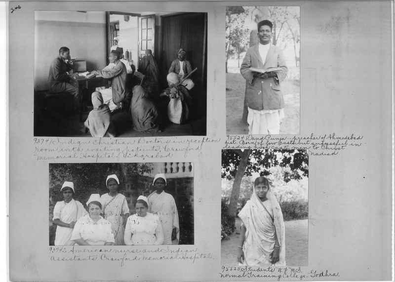 Mission Photograph Album - India #10 Page 0206