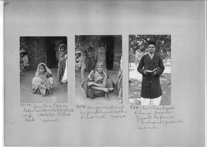Mission Photograph Album - India #10 Page 0210