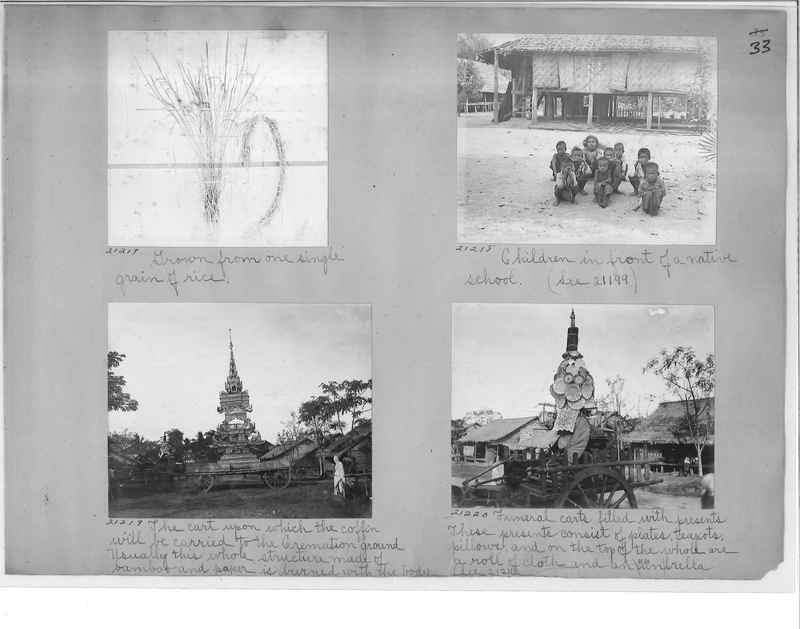 Mission Photograph Album - Burma #1 page 0033