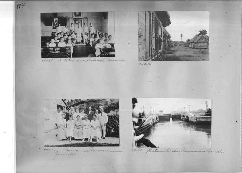 Mission Photograph Album - Panama #02 page 0194