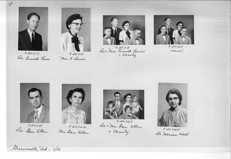 Mission Photograph Album - Portraits #09 Page 0110