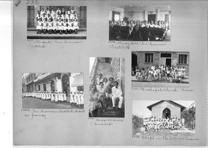 Mission Photograph Album - Panama #04 page 0232