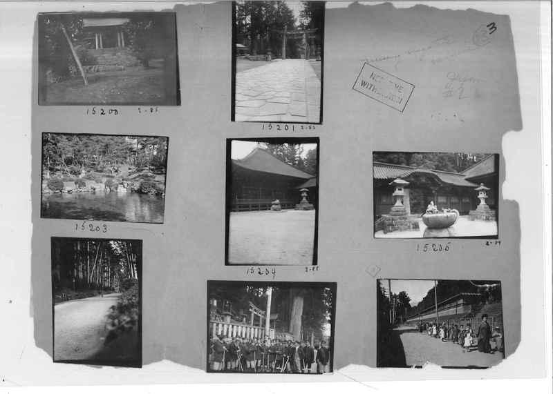 Mission Photograph Album - Japan #02 Page 0003
