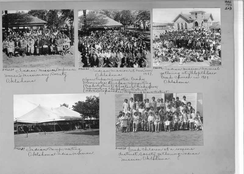 Mission Photograph Album - Indians #2 page_0203