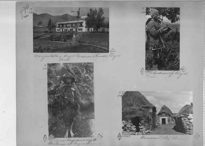 Mission Photograph Album - South America O.P. #2 page 0142