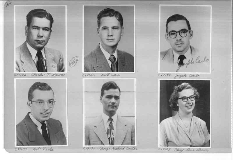 Mission Photograph Album - Portraits #07 Page 0104