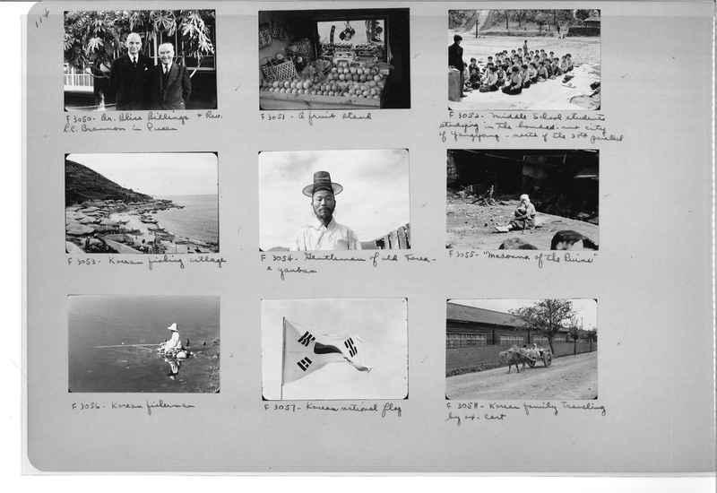 Mission Photograph Album - Korea #6 page 0114