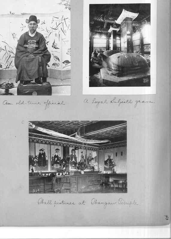 Mission Photograph Album - Japan and Korea #01 Page 0043
