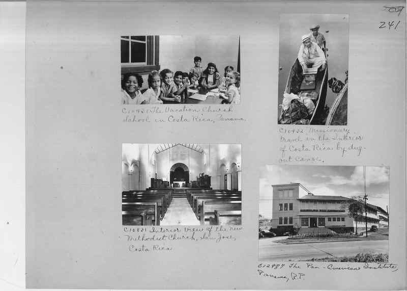Mission Photograph Album - Panama #04 page 0241