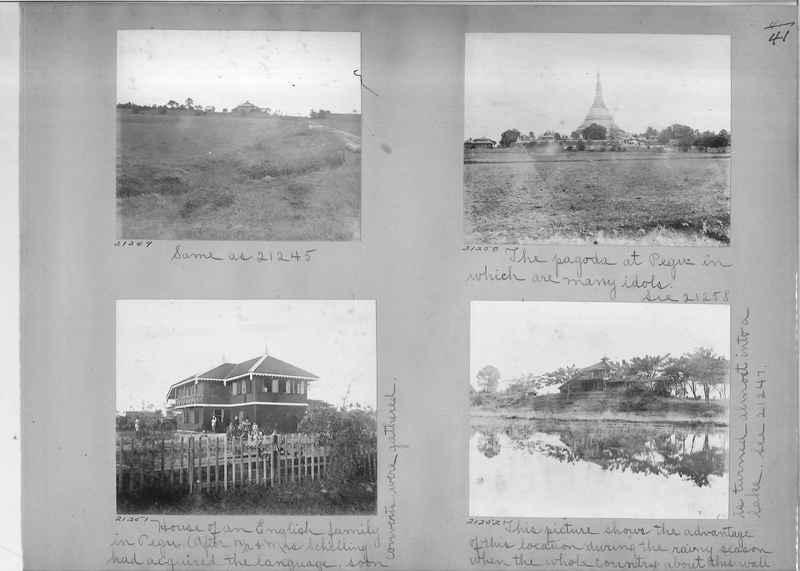 Mission Photograph Album - Burma #1 page 0041