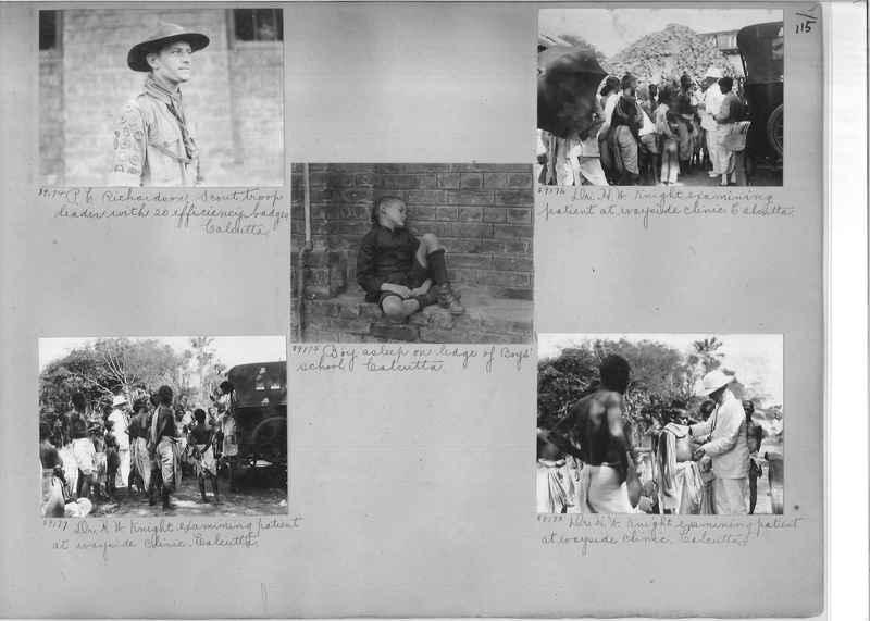 Mission Photograph Album - India #10 Page 0115