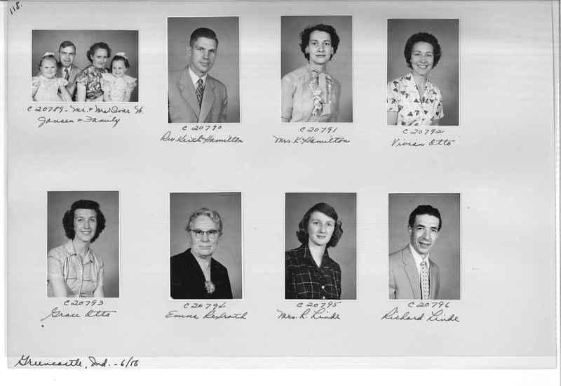 Mission Photograph Album - Portraits #09 Page 0118